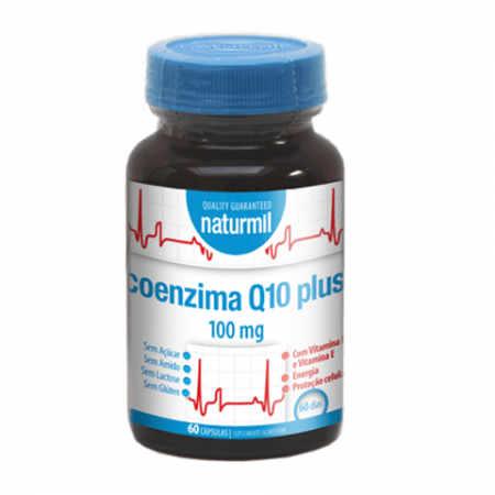 Naturmil Co Enzima Q10 100mg  – 60 cápsulas – DietMed