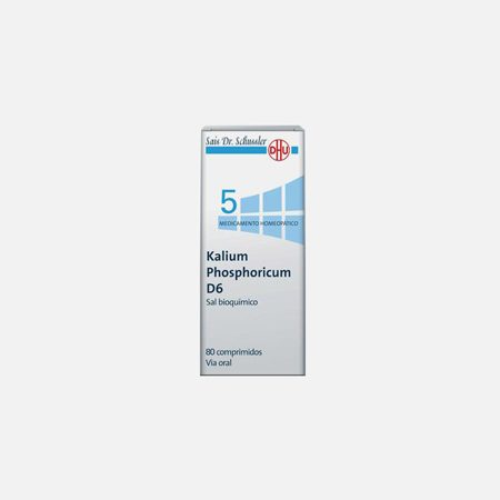 Kalium Phosphoricum D6 – 80 Comprimidos – DHU