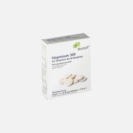 Magnesium 300 + Vitaminas B – 30 Comprimidos – Bischoff
