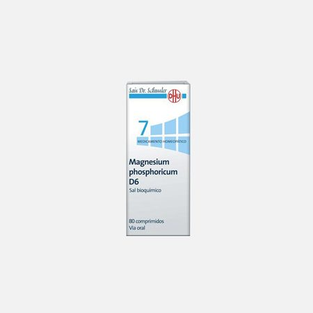 Magnesium Phosphoricum D6 – 80 Comprimidos – DHU