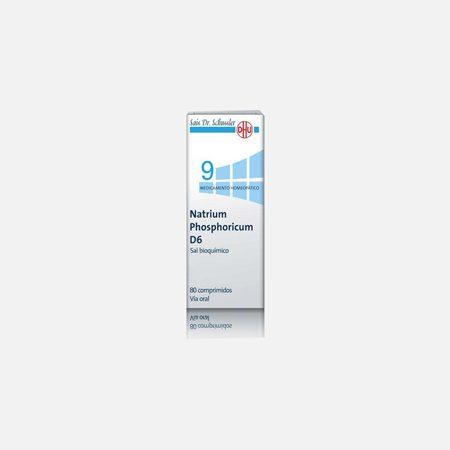 Natrium Phosphoricum D6  – 80 Comprimidos – DHU