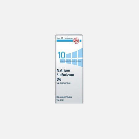 Natrium Sulfuricum D6  – 80 Comprimidos – DHU