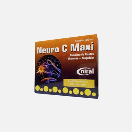 Neuro C Maxi  – 20 ampolas – Niral