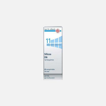 Silicea D6  – 80 Comprimidos – DHU