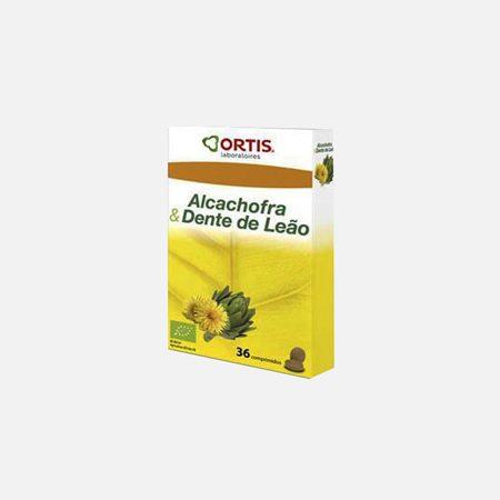 Alcachofra & Dente de Leão – 36 comprimidos – Ortis