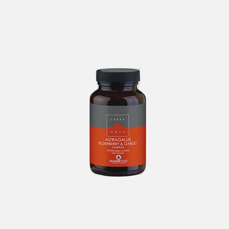Astragalus Elderberry & Garlic Complex – 50 cápsulas – Terra Nova