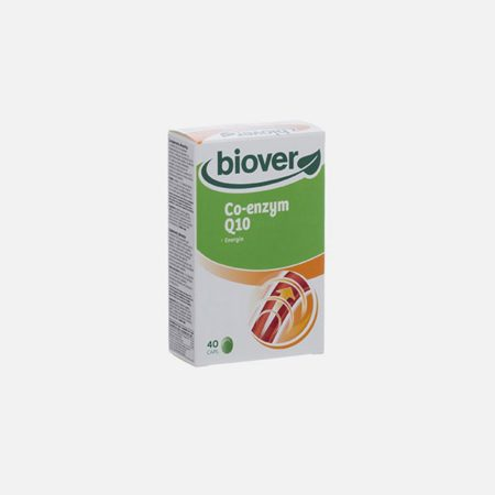 Co- enzym Q10 – 40 Cápsulas – Biover