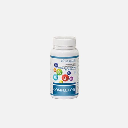 Complexo B – 60 cápsulas – Calêndula