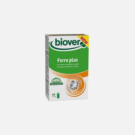 Ferro Plus – 45 comprimidos  – Biover