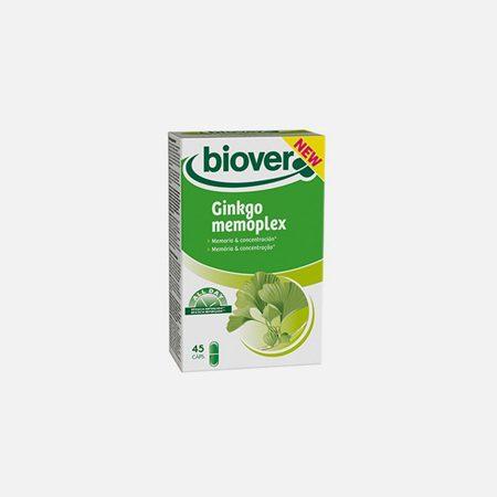 Ginkgo Memoplex  – 45 Cápsulas  – Biover