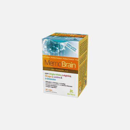 MemoBrain – 30 cápsulas   – Bio-Hera