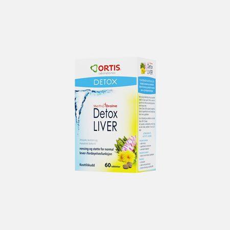 Methodraine Detox Liver – 60 comprimidos – Ortis