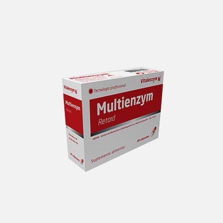 Multienzym – 45 cápsulas – Biotop