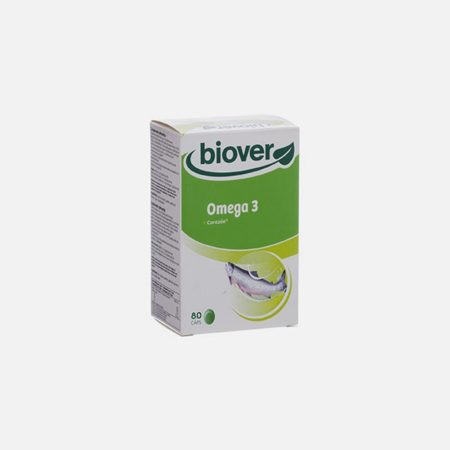 Omega 3 – 80 Cápsulas – Biover