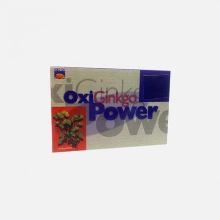 Oxiginkgo Power –  20 Ampolas – Oligofarma