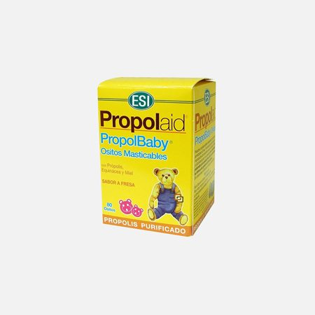 Propolbaby – 80 ursinhos mastigáveis – ESI