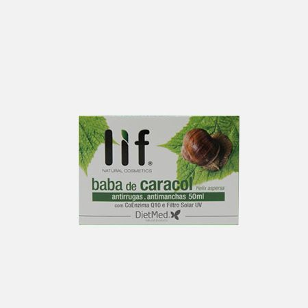 Baba de Caracol creme – 50ml – DietMed