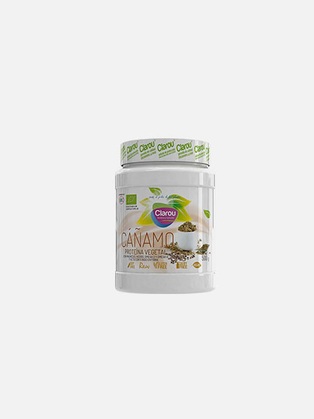 748da3567 Proteína Vegetal de Cânhamo - Clarou - 500g - Nutribio