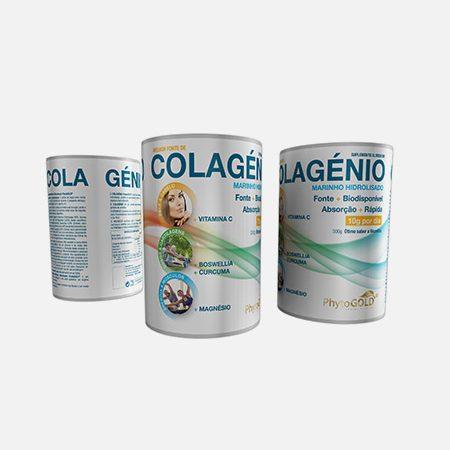 Colagénio Marinho Hidrolisado – 300 g – PhytoGold