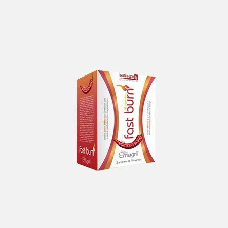 Emagril Fast Burn – 60 cápsulas – Nutriflor