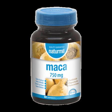 Naturmil Maca 750mg – 60 comprimidos – Dietmed
