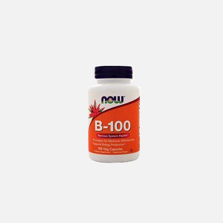B-100 – 100 cápsulas – Now