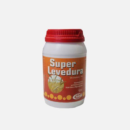 Super Levedura – 600 comprimidos – Niral