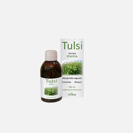 Tulsi Xarope – 200 ml – Zurc Etraud