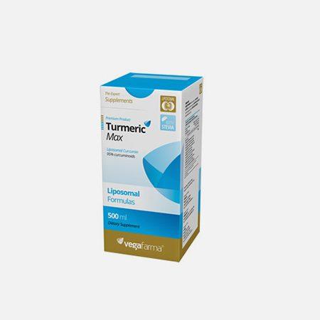 Turmeric Max Liposomal – 500ml – Vegafarma