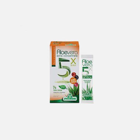 Aloe Vera 5x Antiox – 14x10ml – Segredo da Planta