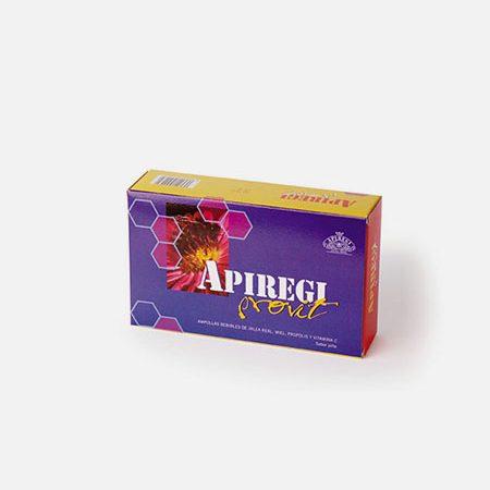 Apiregi Provit (Geleia Real + Propolis + Vit. C) – 20 ampolas – Artesania Agricola