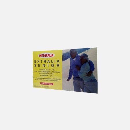 EXTRALIA SENIOR geleia real 1500mg – 20 ampolas – Integralia