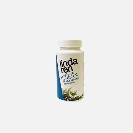 Lindaren Diet Fibra Saciante Glucomanano – 60 cápsulas – Artesania Agricola