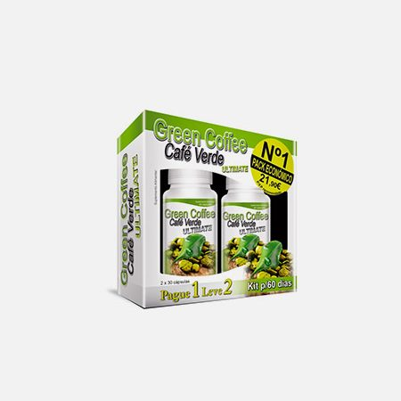 Green Coffee Ultimate 2x 30 cáps Pague 1 Leve 2 – 30+30 cápsulas – Fharmonat