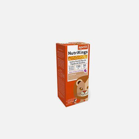 NutriKings Apetit Geleia Real e Óleo de Fígado de Bacalhau – 150ml – DietMed