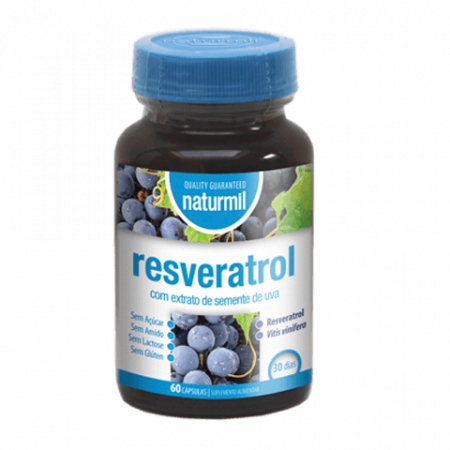 Naturmil Resveratrol – 60 cápsulas – DietMed