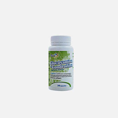 Vita Glucosamina + Condroitina – 30 cápsulas – Fharmonat