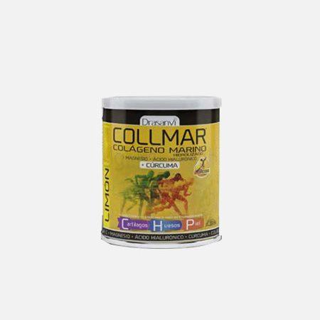 Collmar colagénio marinho + Curcuma Limão – 300g – Drasanvi