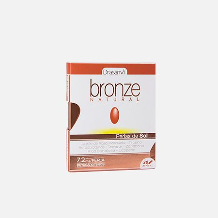Bronze Natural – 30 cápsulas – Drasanvi
