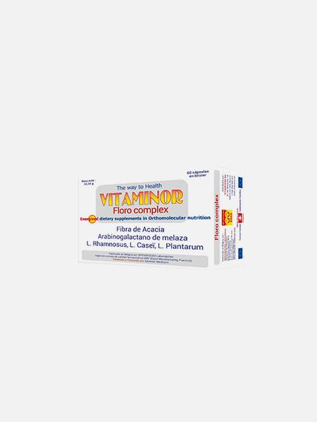 FLORO Complex - 60 cápsulas - Vitaminor