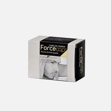Forcecap Cabelos Homem Volume & Anti-Queda – 60 cápsulas – Natiris