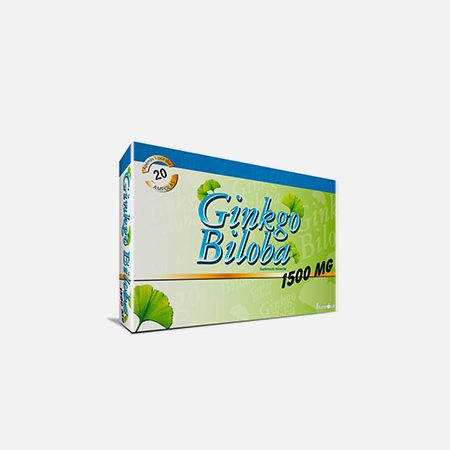 Ginkgo Biloba Forte 1500mg – 30 ampolas – Fharmonat