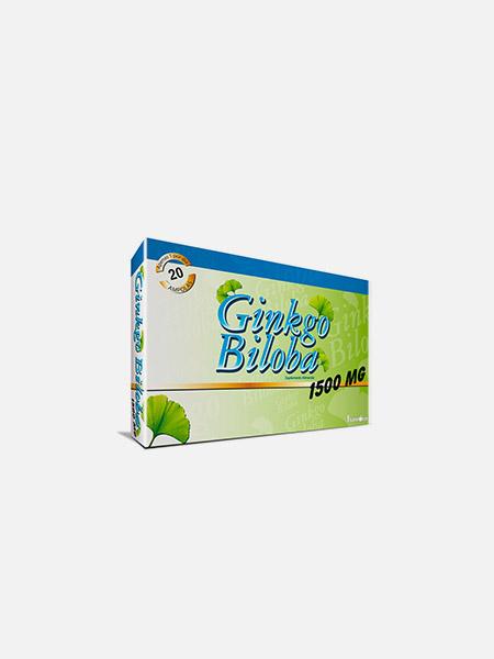 Ginkgo Biloba Forte 1500mg - 20 ampolas - Fharmonat