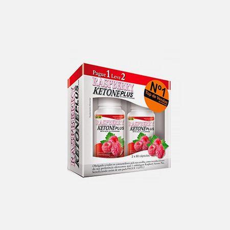 Pague 1 Leve 2 Raspberry Ketone Plus – 60+60 cápsulas – Fharmonat