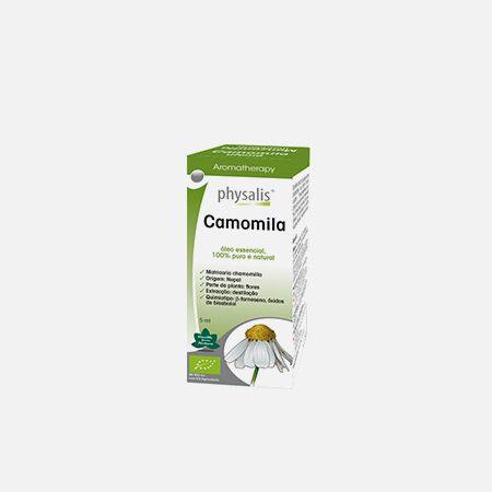 Physalis CAMOMILA óleos essenciais – 5ml – Biocêutica