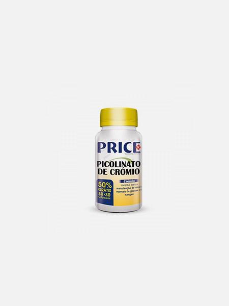Price Picolinato de Crómio - 30+30 cápsulas - Fharmonat