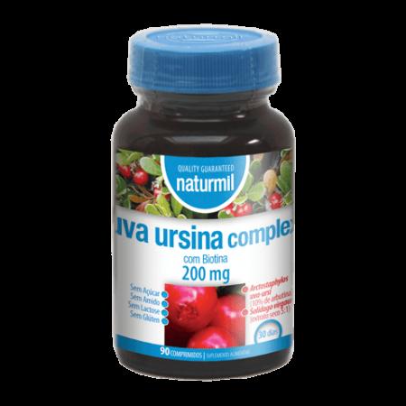 Naturmil Uva Ursina Complex 200 mg – 90 comprimidos – DietMed