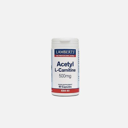 Acetyl L-Carnitine 500mg – 60 comprimidos – Lamberts
