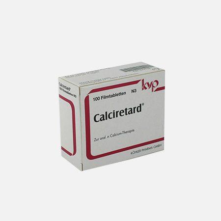 Calciretard – 100 comprimidos – KVP