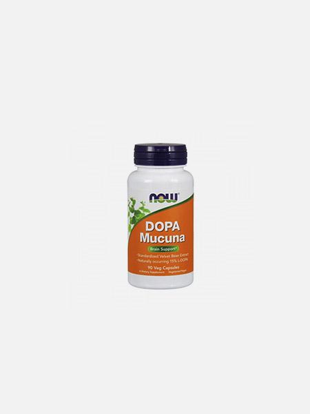 DOPA Mucuna - 90 cápsulas - Now